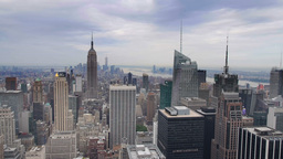New York Skyline Footage