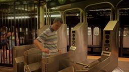 Subway Passenger Footage
