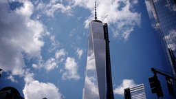 Freedom Tower Time Lapse Stock Video Footage