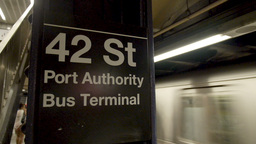 New York Subway Stock Video Footage
