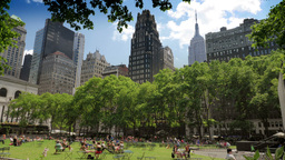 Bryant Park Time Lapse Stock Video Footage