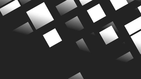 White squares and rectangles Stock Video Footage