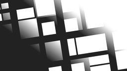 White squares and rectangles Animation