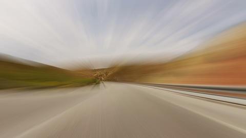 Fast road Footage