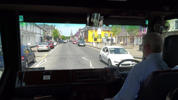 Tour Bus Stock Video Footage