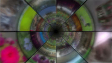 Video Clips Tunnel Vortex 25P Animation