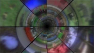 Video Clips Tunnel Vortex 25P Stock Video Footage