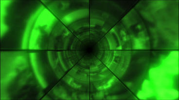 Video Clips Tunnel Vortex Cycle Colors 24P Stock Video Footage
