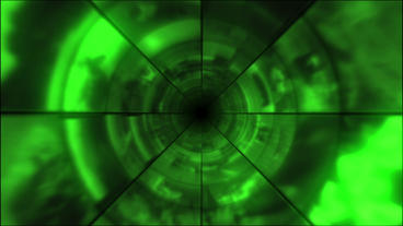 Video Clips Tunnel Vortex Cycle Colors 30P Stock Video Footage