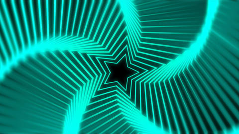 Star Radiation colorful blur Animation