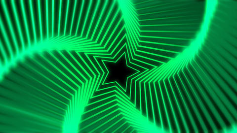 Star Radiation green blur Stock Video Footage