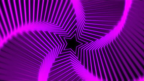 Star Radiation purple blur Stock Video Footage