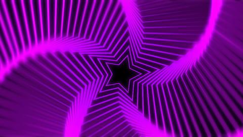 Star Radiation purple blur Stock Video Footage