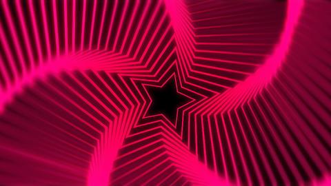 Star Radiation red blur Stock Video Footage