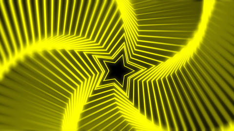 Star Radiation yellow blur Stock Video Footage