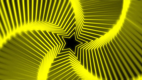 Star Radiation yellow blur Animation