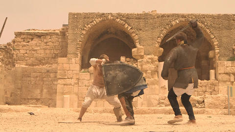 The Gladiator Fight weapon violence battle combat Live Action