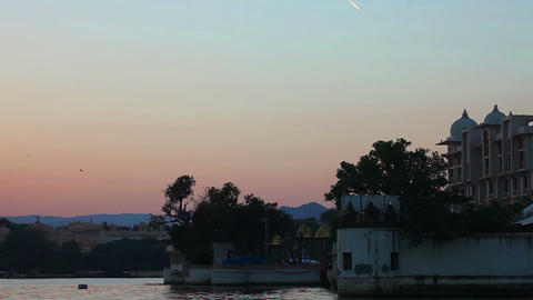 Evening sky Footage