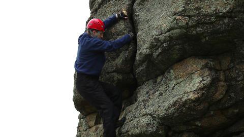 Climber Stock Video Footage