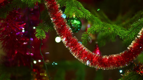 Christmas colors Stock Video Footage