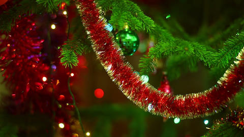 Christmas Colors stock footage
