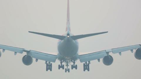Soft landing Footage