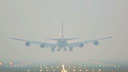 Soft landing Stock Video Footage