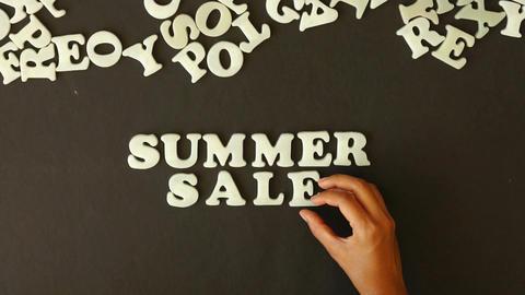 Summer Sale Stock Video Footage