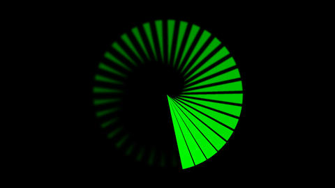 Animation - Spiral stock footage