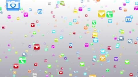 Smart Phone apps S Fm 1w 1 HD Stock Video Footage