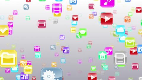 Smart Phone apps S Kb 1w 1 HD Stock Video Footage