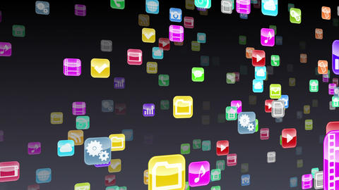 Smart Phone apps S Nb 1b 1 HD Stock Video Footage
