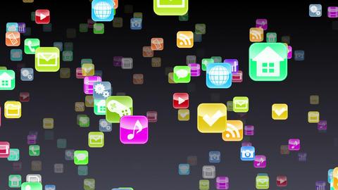 Smart Phone apps S Yb 1b 1 HD Stock Video Footage