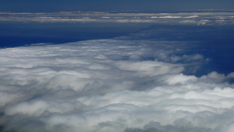 Turbulent clouds Footage