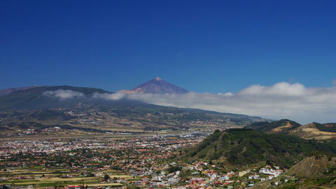 Teide Volcano #4 Stock Video Footage