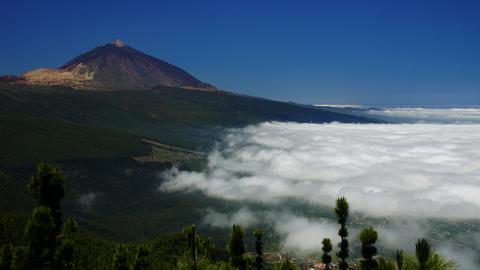 Teide Volcano #4 Stock Video Footage