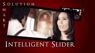 Intelligent Slider stock footage