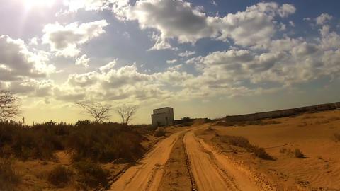 Desert Car Trip 06 Stock Video Footage