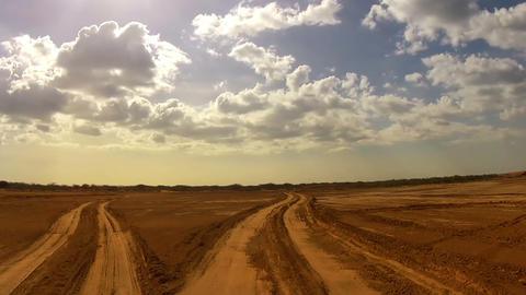 Desert Car Trip 04 Stock Video Footage