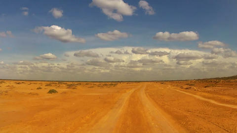 Desert Car Trip 02 Stock Video Footage