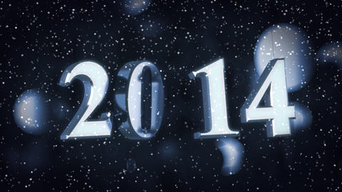 Year 2014 Animation