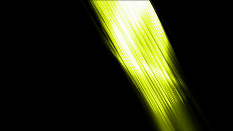 yellow fiber optic lines,tech energy plate Stock Video Footage