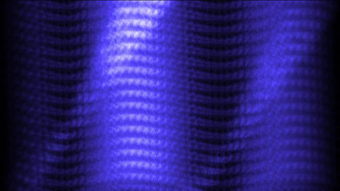 blue metal plate wave & flitting light Animation
