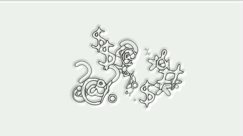 computer symbol on screen Animation