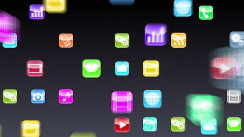 Smart Phone apps G Jb 1 HD Stock Video Footage