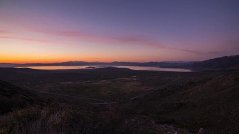 Sunrise over Mono Lake Footage