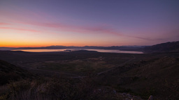Sunrise over Mono Lake Stock Video Footage