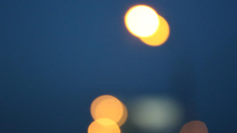 road lamps 1 Stock Video Footage