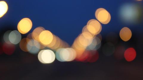 Night glare City Footage