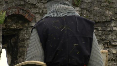 medieval crusader 01 Footage